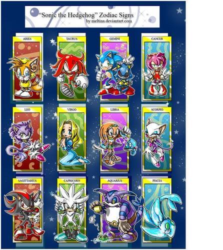 The Sonic Zodiac