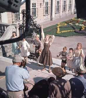 Filming The Sound Of Music - the-sound-of-music Photo