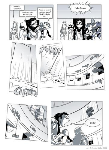 Titans Go! comics