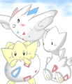 Togepi's evolutions - togepi photo