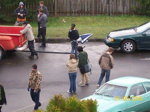 Twilight (2008) fã Filming Pictures