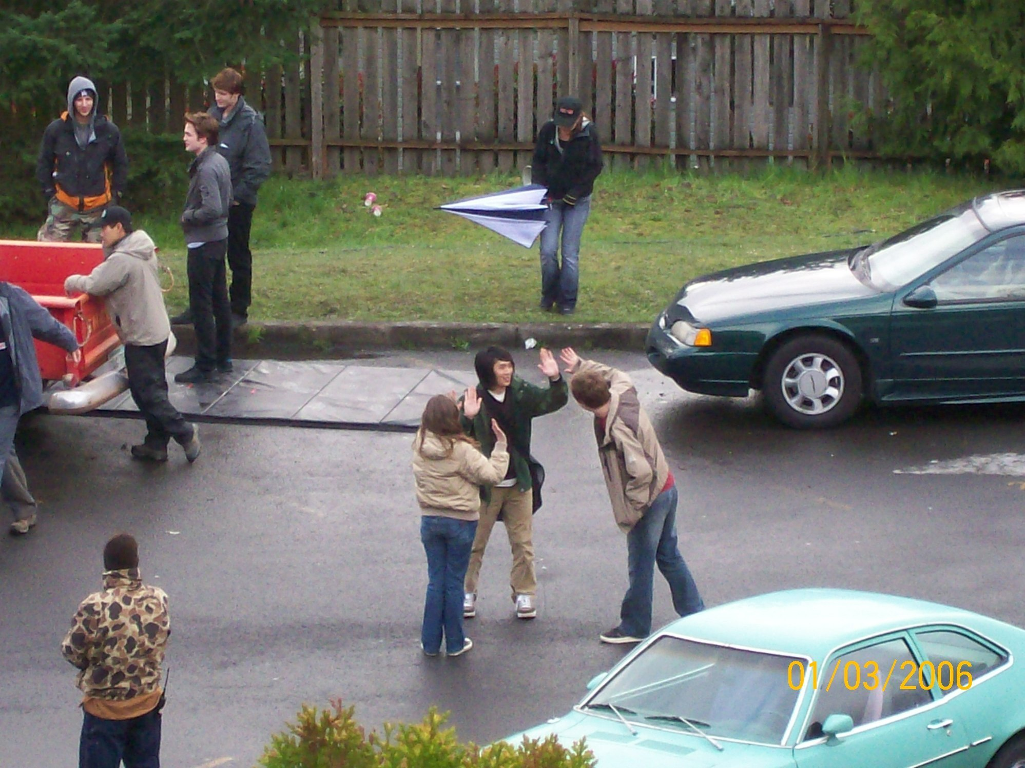 Twilight (2008) > Фан Filming Pictures