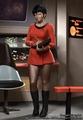 Uhura as a Vulcan