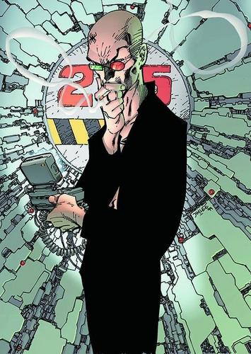 Vertigo Comics | паук Jerusalem of Transmetropolitan