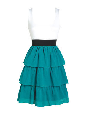 Vicki Colorblock Knit Dress - teen-fashion Photo