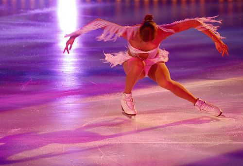Wallpaper Carolina Kostner - ice-skating Photo