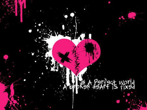 We fight, we break up, we kiss we make up :D
