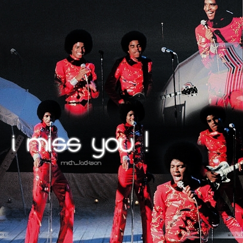 We miss you...