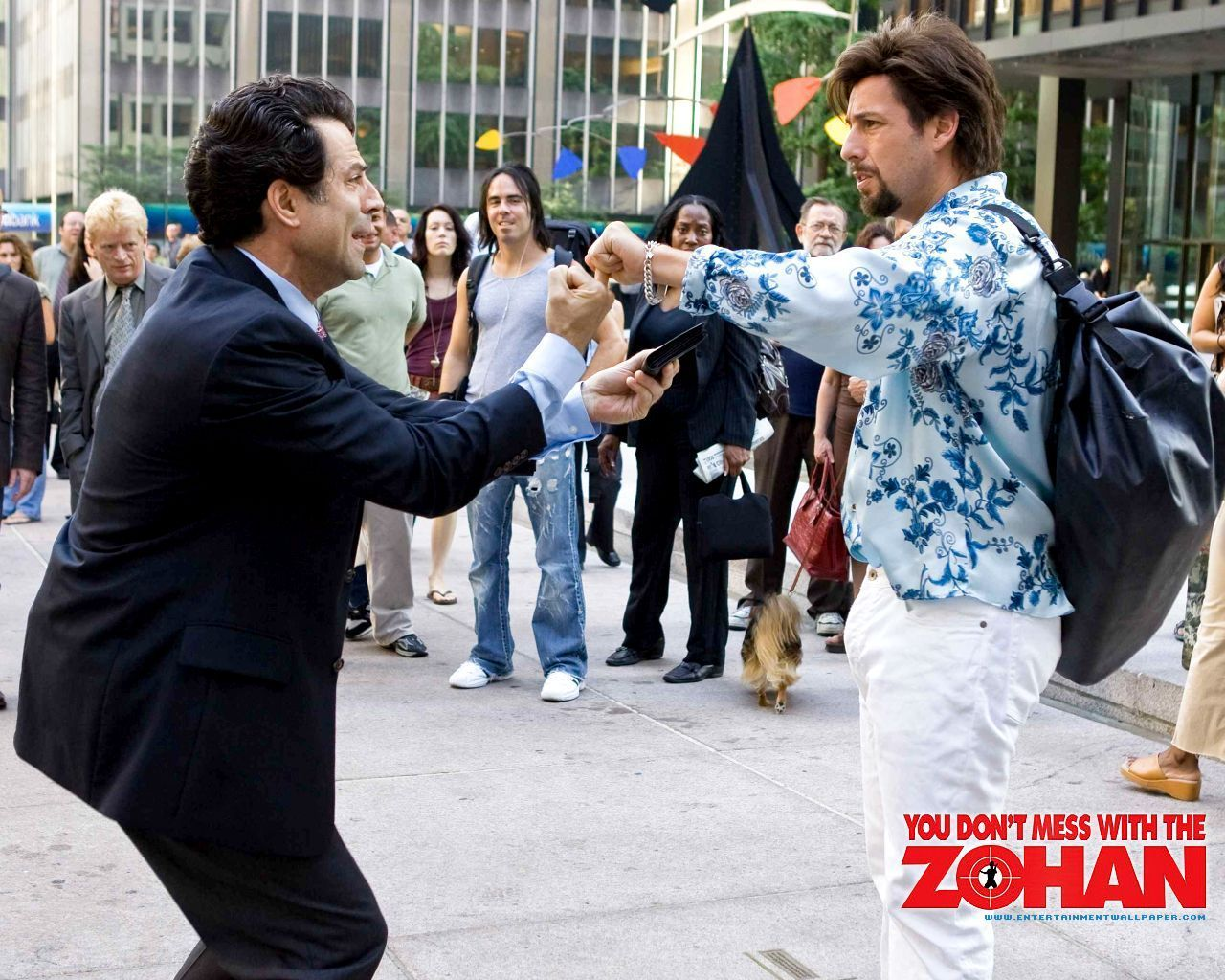 You Don't Mess with the Zohan movies