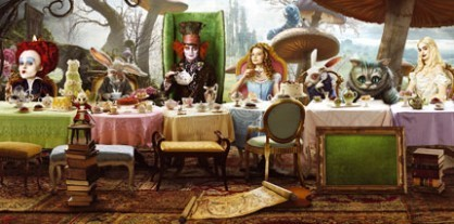 Alice in Wonderland (2010) wallpaper titled alice in wonderland