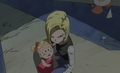 android 18 and Marron - android-18 screencap