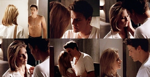 Bangel wallpaper titled buffy&angel moments<3