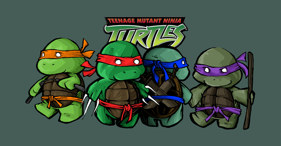 Courtneygirl images cute tmnt wallpaper and background - Dessin anime des tortues ninja ...
