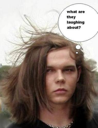 funny hair-XD