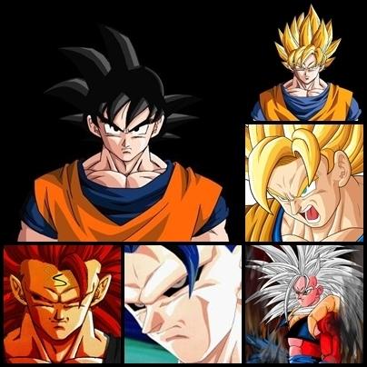 wallpapers goku. Wallpaper: Goku Wallpapers