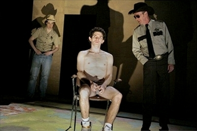 he's naked - colin-morgan Photo