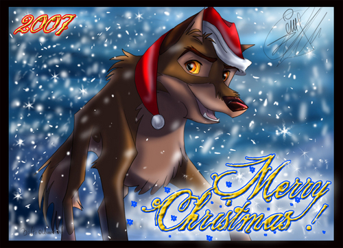 merry christmas from Balto