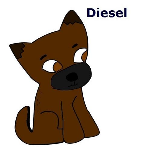 my dog diesel