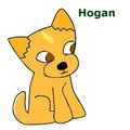 my dog hogan - total-drama-island fan art
