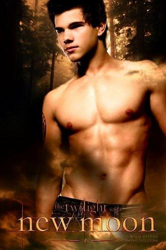 Twilight la saga wallpaper entitled new moon jacob black