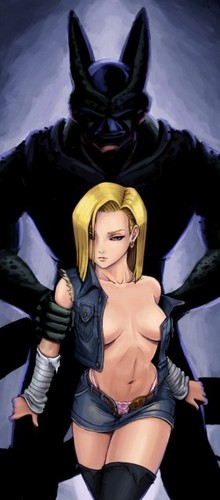 Android 18 wallpaper entitled sexy android 18