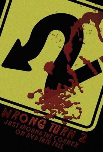 Horror films achtergrond titled wrong turn 2