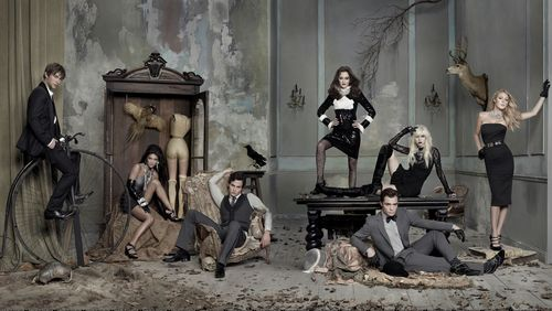 Gossip Girl fond d'écran called ~ Gossip Girl Cast ~