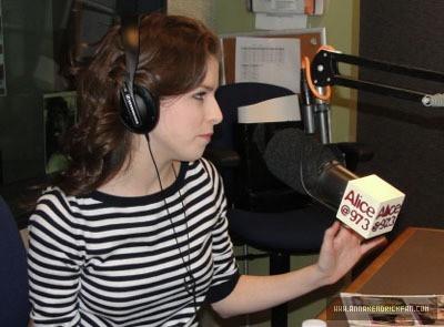 01.08.10: Sarah and Vinnie Radio montrer