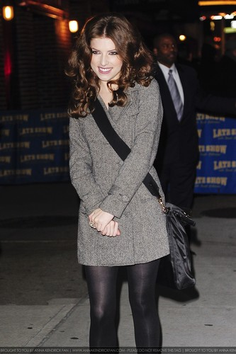 """12.07.09: Arriving at """"Late montrer with David Letterman"""""""