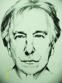 Alan Rickman - severus-snape fan art