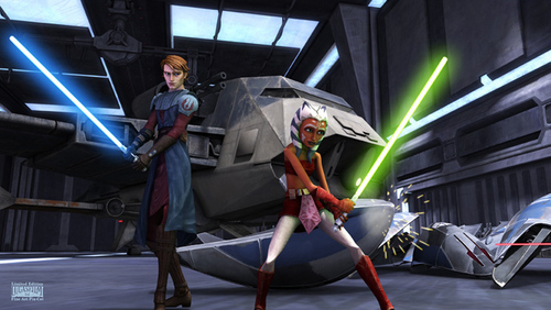 Anakin and Ahsoka