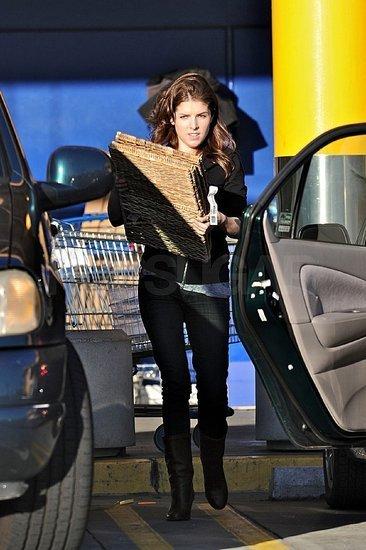 Anna Kendrick Shops at Ikea