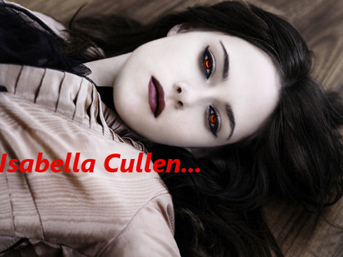 Bella as a vampire