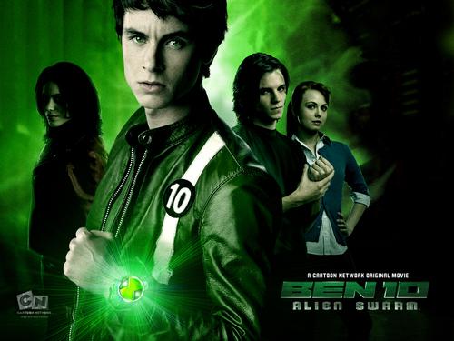 Ben 10: Alien Force wallpaper entitled Ben 10 Alien Swarm