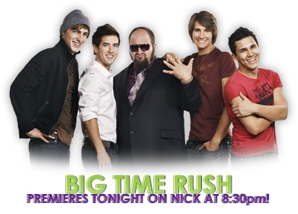 Big Time Rush and Gustavo