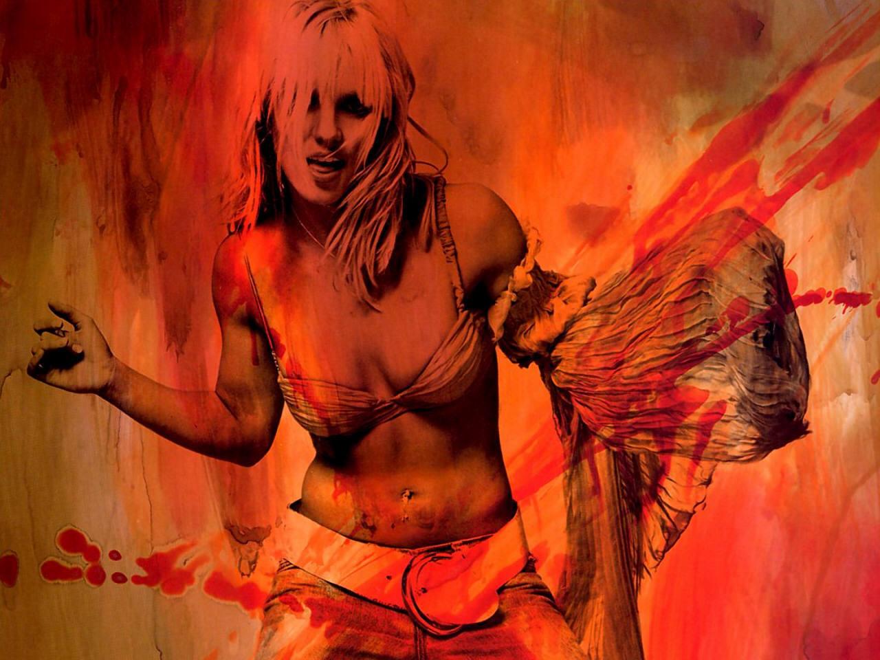 Britney Album Wallpaper