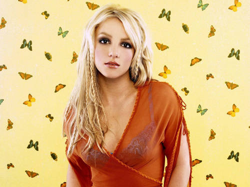 Britney Butterfly Wallpaper