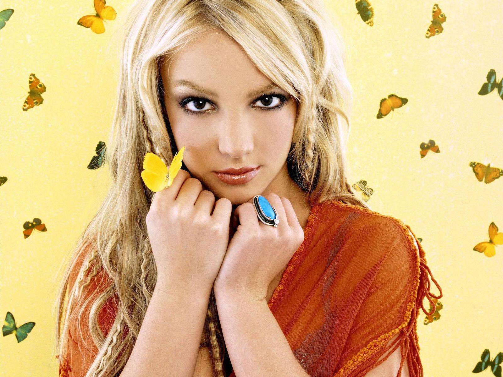 Britney تیتلی پیپر وال