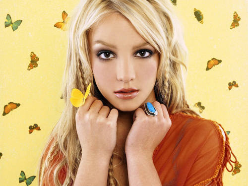 Britney Spears wallpaper entitled Britney Butterfly Wallpaper