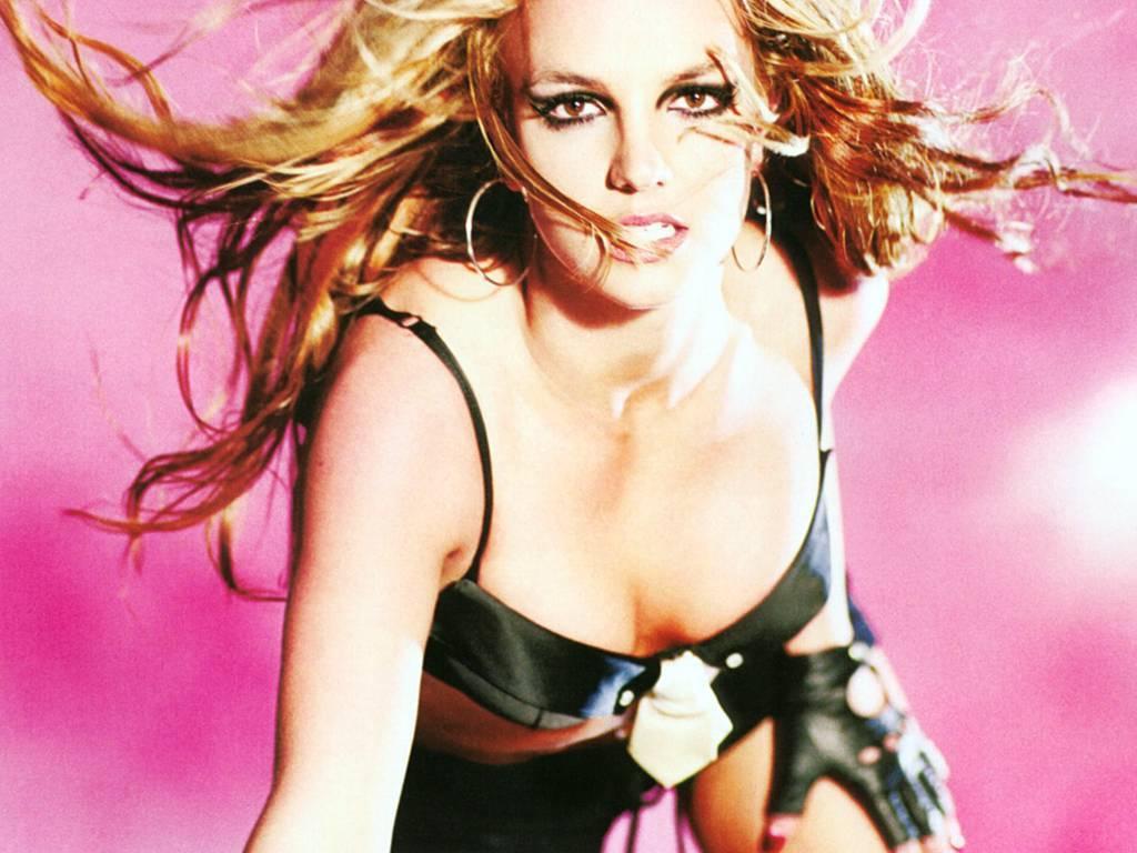 Britney Cute kertas dinding