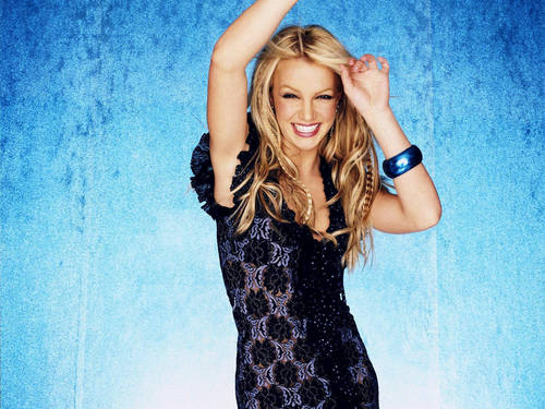 Britney Pretty Dress Wallpaper