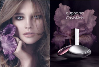 CK Euphoria Fragrance Ad F/W 09 - Natalia Vodianova Photo ...