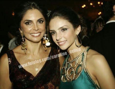 Carol y su mama en una fiesta de Vogue en Brasil