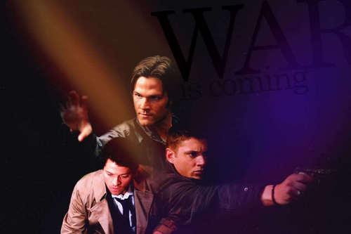 Cas,Dean & Sam