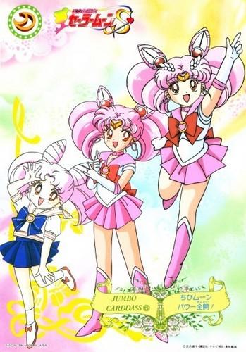 Sailor Mini moon (Rini) দেওয়ালপত্র called Chibiusa