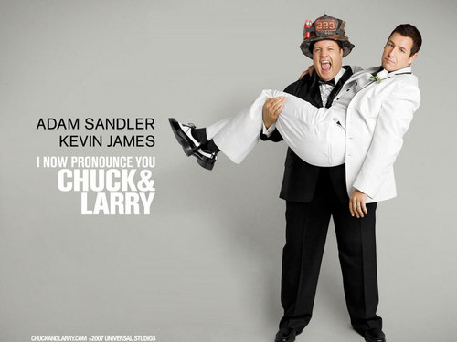 Chuck And Larry wallpaper