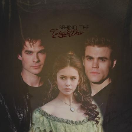 Damon/Katherine/Stefan