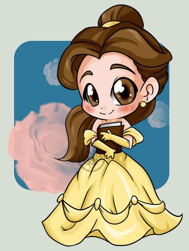 迪士尼 Princess-Belle-