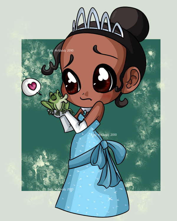 Disney Princess-Tiana-