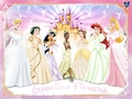 Disney Princesses Wedding
